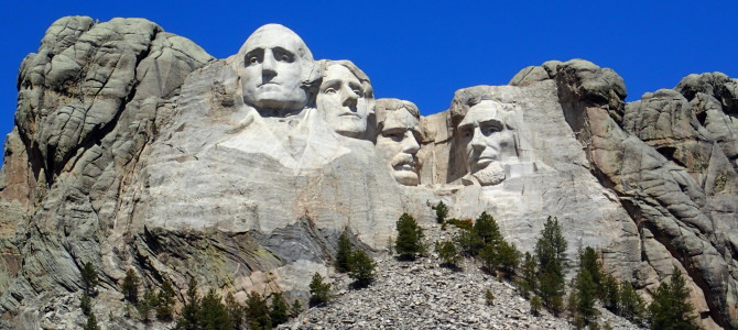 Mount Rushmore and Leaving South Dakota