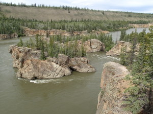 Five Finger Rapids Yukon River