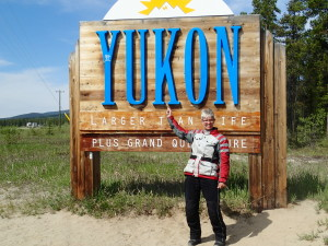 Made it to the Yukon