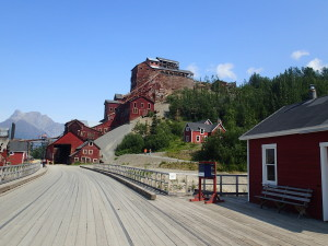 Old Copper Mine Buildings Kennecott