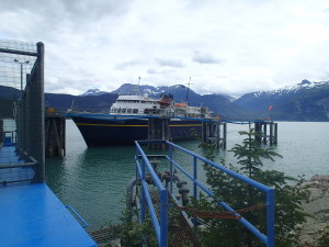 Ferry to Skagway from Haines