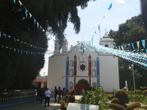 Church in Santa Maria Del Tule