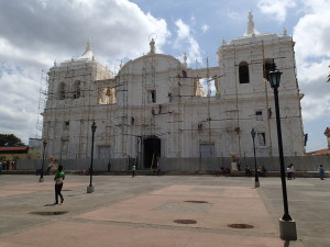 Cathedral Leon, biggest in Central America