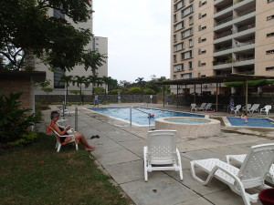 Nice pool in the housing complex