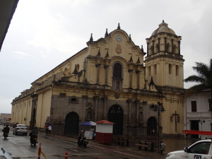 San Francisco Church Popayan