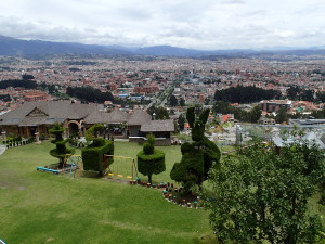 View over Cuenca