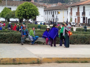 Main Square in Chachapoyas