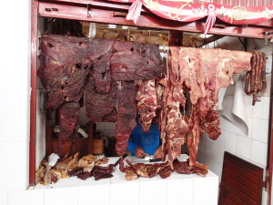 Dried Meat is a Specialty in this Area