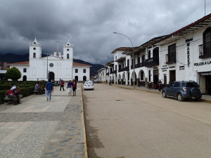 Main Square of Chachapoyas