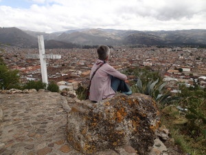 Cajamarca from Colina Santa Apolonia