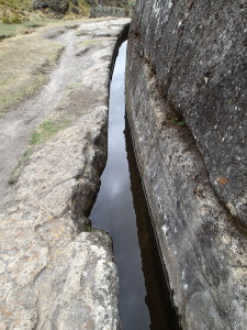 Water Channel at Cumbe Mayo