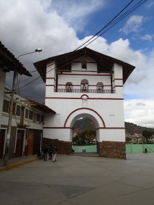 Central Square in Huamachuco