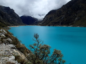 Laguna Paron (Cordillera Blanca in the back ground)