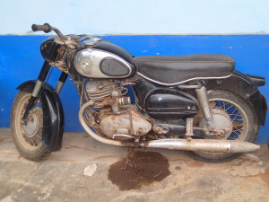 Old Puch at the Hacienda