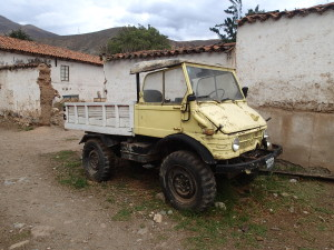 Old Unimog at the Hacienda