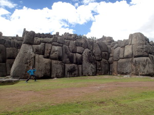 Imposing fortress of Sacsayhuaman