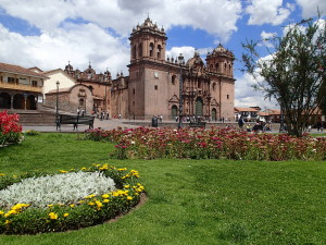 Cusco's imposing Cathedral