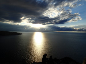 Another sunset over Lake Titicaca