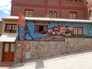 Our Hostal in Humahuaca