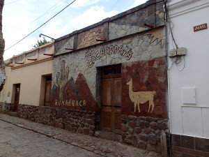 Nicely decorated Houses in Humahuaca