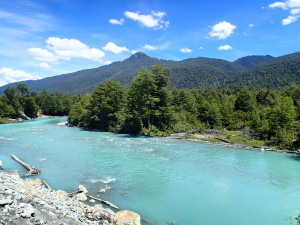 Turquoise colored rivers everywhere