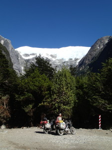 Another glacier along the Carretera Austral