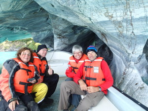 Lago General Carrera and Marble Caves in good company
