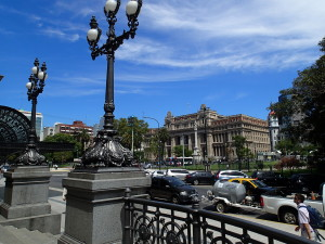 Plaza del la republica