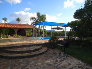 Klaus and Andrea's little paradise in Paraguay