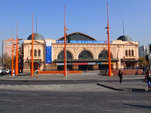 Old Central Train Station in Santiago